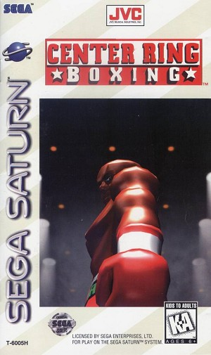 Complete Center Ring Boxing - Saturn Game
