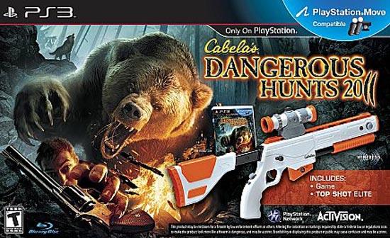 Complete Cabela's Dangerous Hunts 2011 - PS3 Game