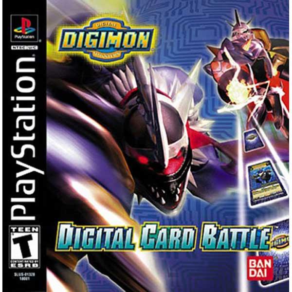 Digital Card Battle - PS1 Game