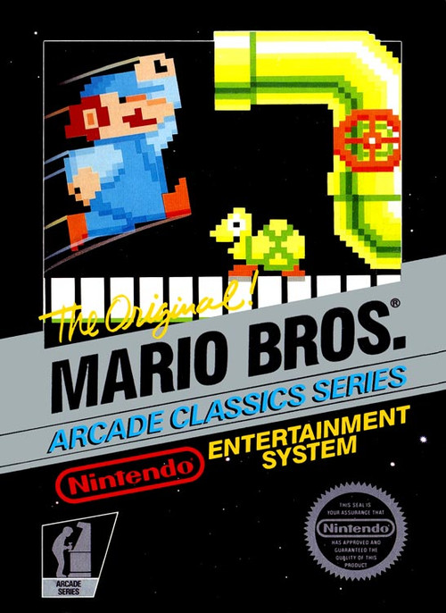 Mario Bros Arcade Classic Nintendo Nes Original Game Sale