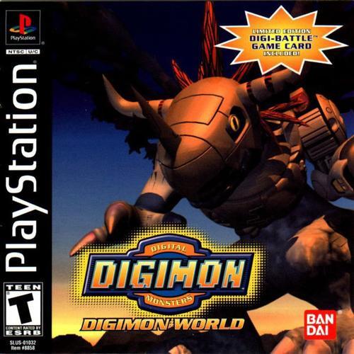 Digimon Digimon World - PS1 Game