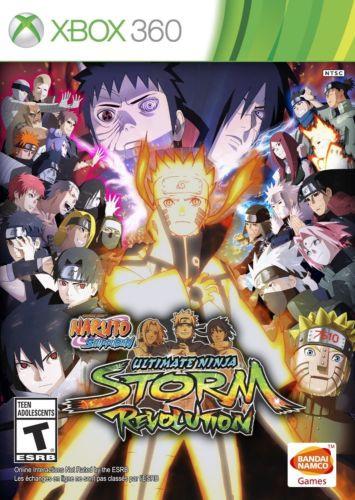 Naruto Shippuden Ultimate Ninja Storm Revolution Xbox 360 Game
