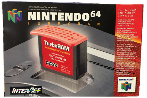 Complete Interact Nintendo 64 Turbo Ram Expansion Pak