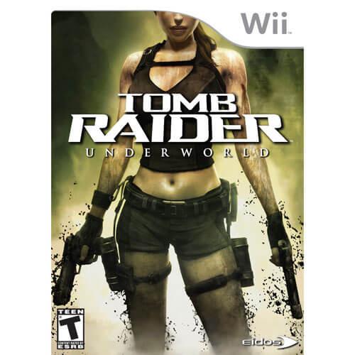 Tomb Raider Underworld Nintendo Wii Game For Sale Dkoldies