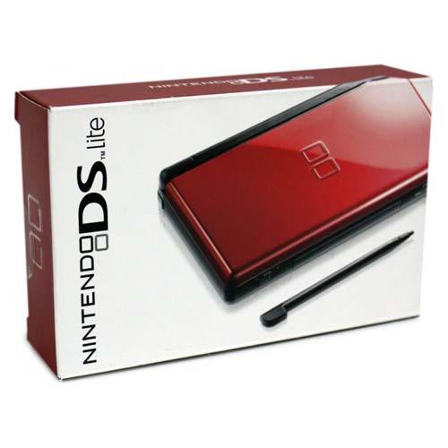 1f649e41cbe2 Complete Nintendo DS Lite Crimson System For Sale