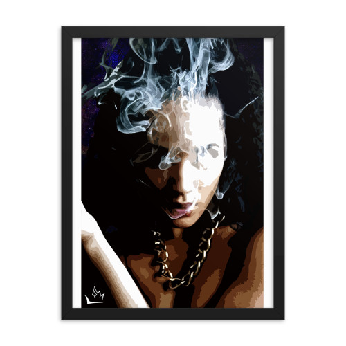 """The Blow-Up"" Enhanced Matte Paper Framed"