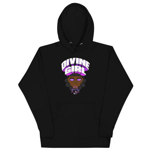 """The Divine Girl"" Premium Hoodie (Fashion Fit - May have to order 1 size up)"