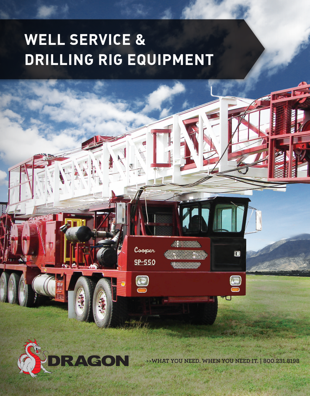 Well Service & Drilling Rig Equipment