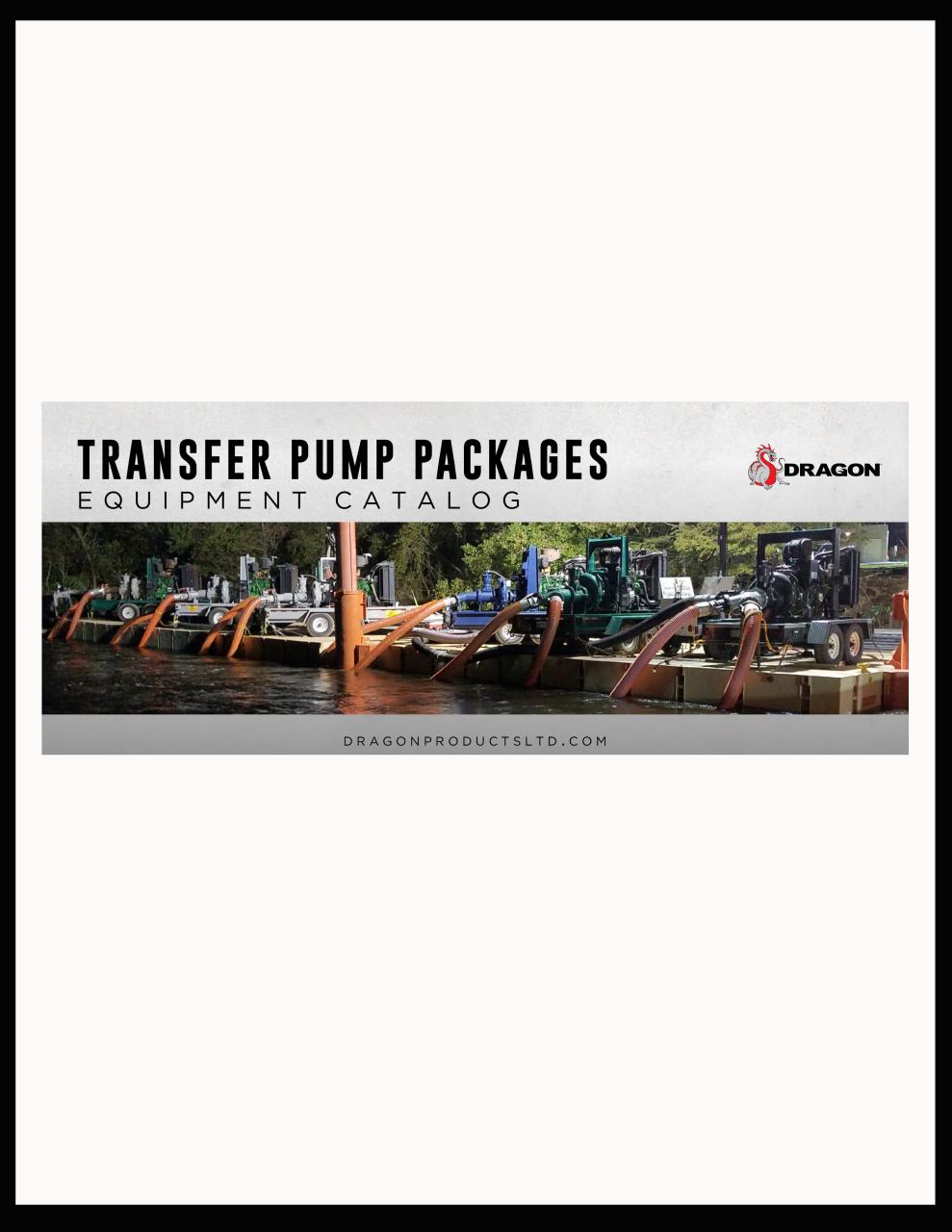 Transfer Pumps Packages Equipment Catalog - Mini Flip Book