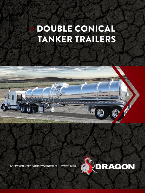 Double Conical Tanker Trailers