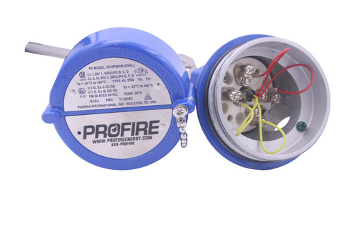 Temperature Controller w/SST Thermowell, Profire