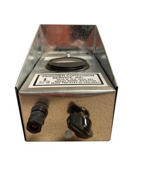 Metal 3 AMP Meter