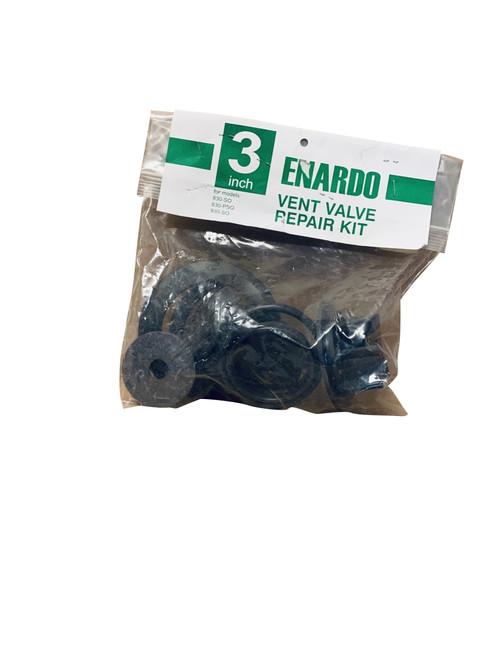 "Repair Kit, 3"", Buna, Enardo Series 830 3"" Inline Vent Valve"