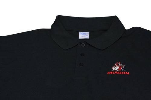 Black Dragon Polo Shirt