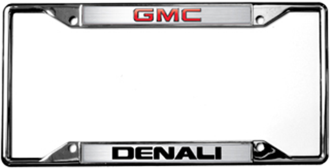 GMC Denali License Frame