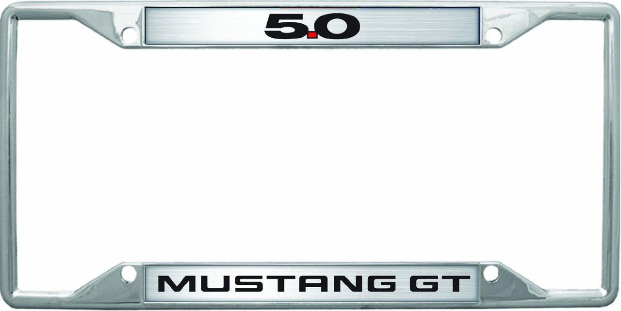 Mustang GT 5.0 License Frame