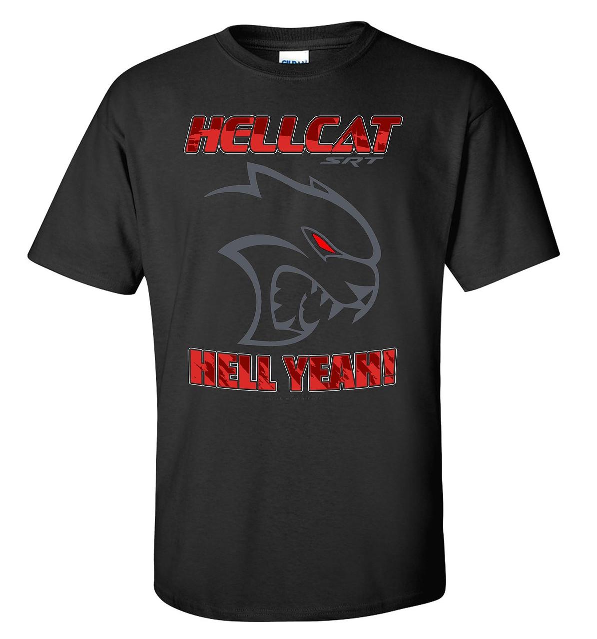 Dodge Challenger SRT Hellcat Black T-Shirt