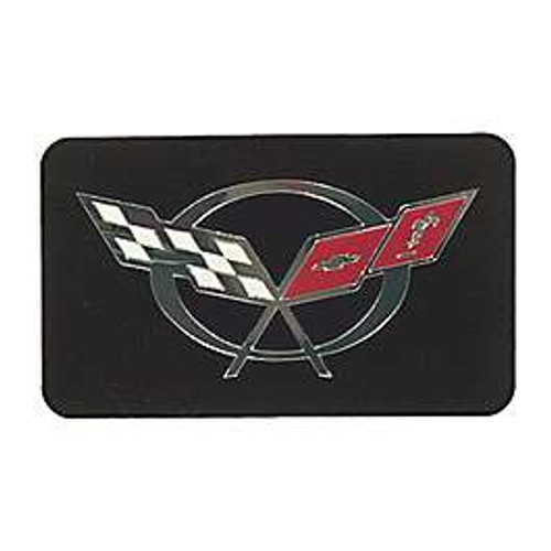 Sample Corvette Exhaust Plate black