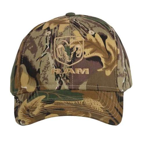 Dodge Ram Camo Hat front