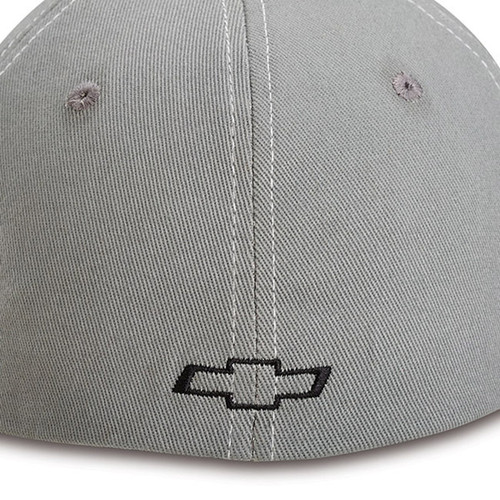 Chevy Colorado Gray Flex Hat back