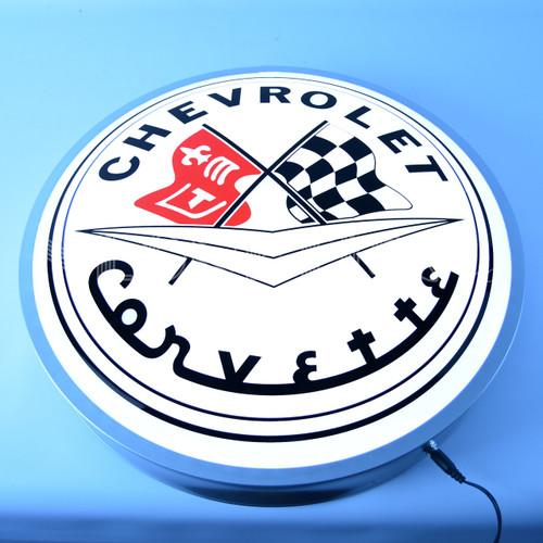 C1 Corvette Backlit Sign alt