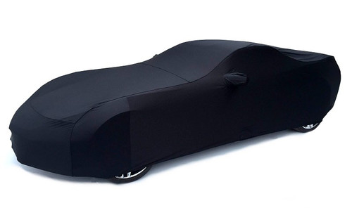 C7 Corvette Black Car Cover alt