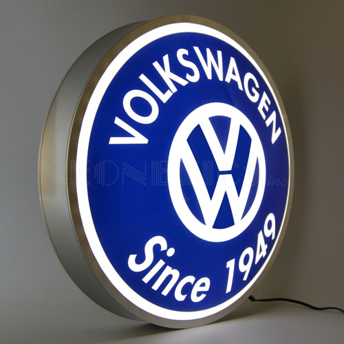 Volkswagen Backlit Sign alt