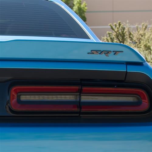 SRT Badging on Challenger Car