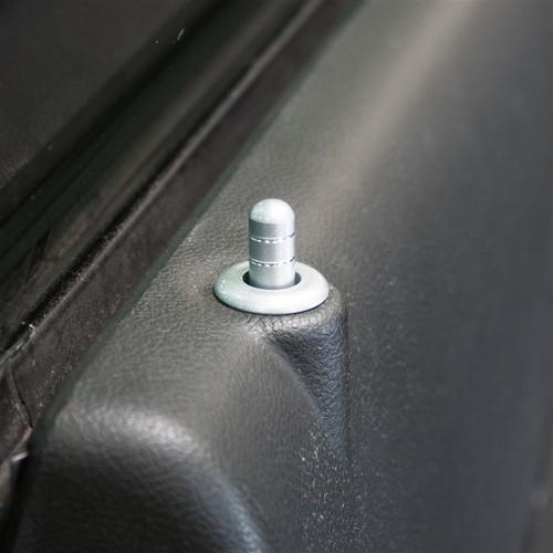 G5 2010-2015 Camaro Billet Interior Knob Kit (pin/bezel sample)