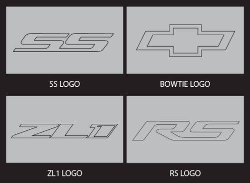 Camaro Logo Options - (SS, BT, ZL1, RS)