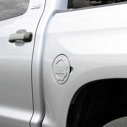 Toyota Tundra 2014-2019 Billet Fuel Door (on car)