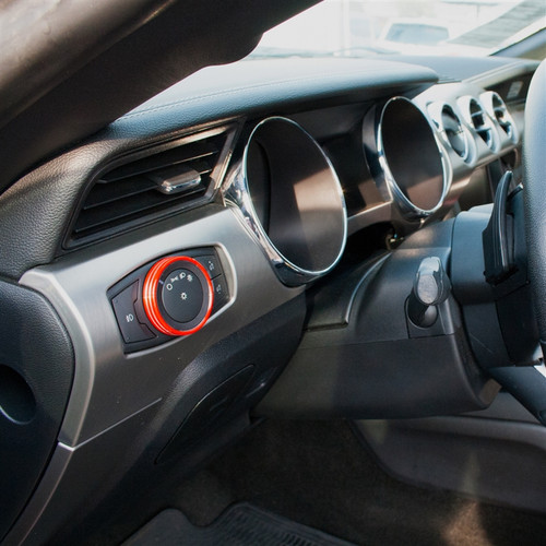 Mustang Interior Knob Kit (w/o Navigation) (alt)