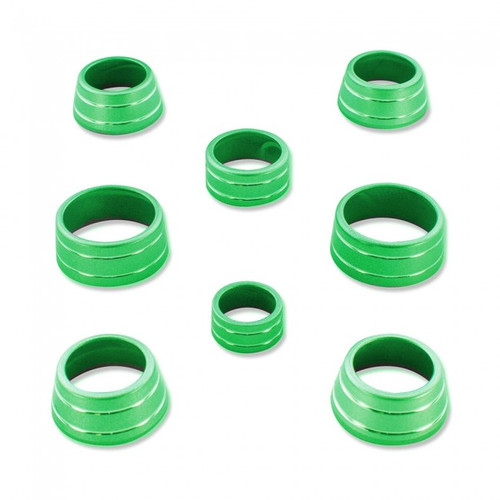 Camaro Billet Interior Knob Kit - Krypton Green