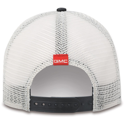GMC AT4 Black and Khaki Mesh Hat (back)