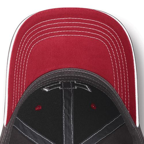 Chevrolet American Flag Salute Gray Hat (underside)