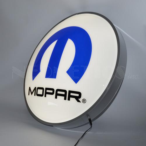 Mopar M Backlit Sign alt