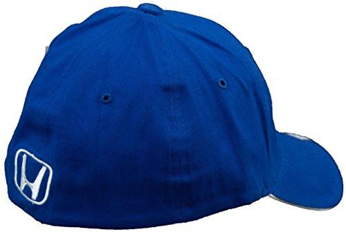 Honda Blue Brushed Cotton Flex Hat (back)
