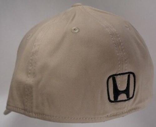 Honda Khaki Brushed Cotton Flex Hat (back)
