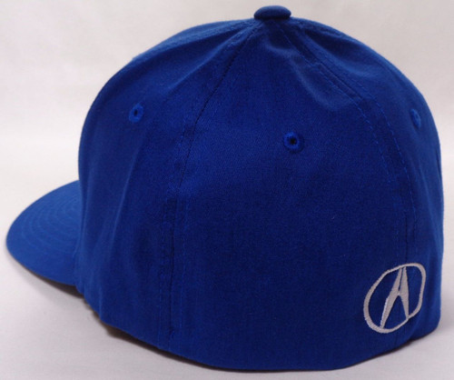 Acura Blue Brushed Cotton Flex Hat (back)