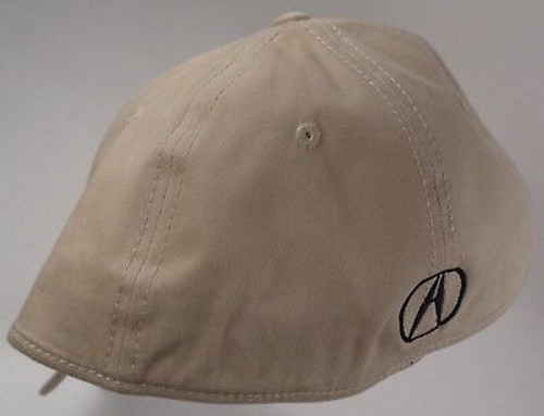 Acura Khaki Brushed Cotton Flex Hat (back)