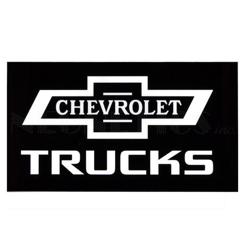 Chevrolet Trucks Slim LED Sign