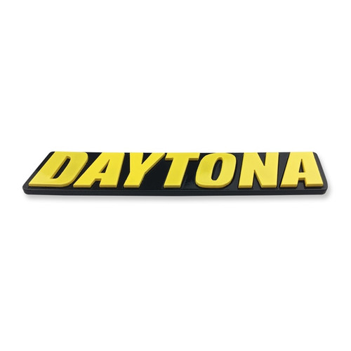 Dodge Charger Daytona Acrylic Front Grill Badge (alt sample)