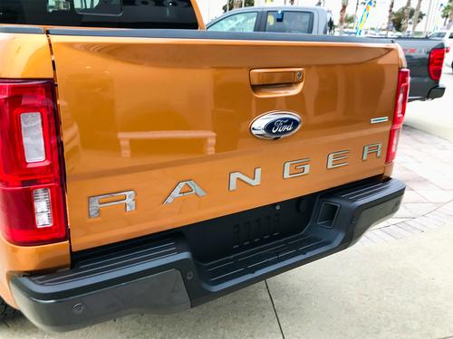 2019-Up Ford Ranger Tailgate Letter Kit (Ultra Chrome)