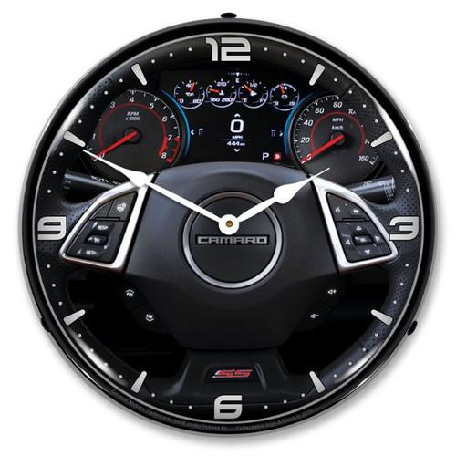 2017 Camaro Dash LED Backlit Clock