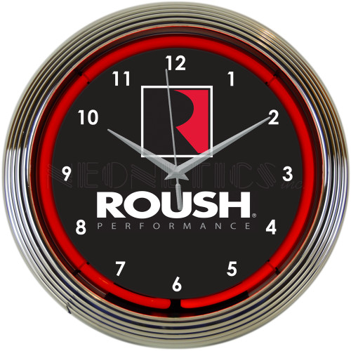 Roush Performance Neon Clock