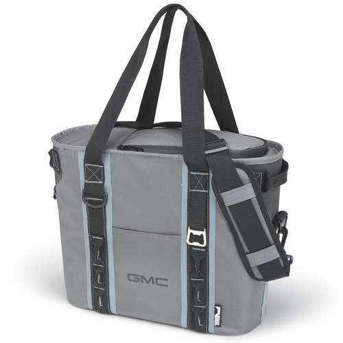 GMC Gray and Black 24 Can Cooler Bag