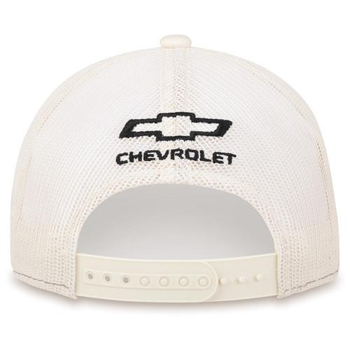 Chevrolet Colorado ZR2 Charcoal and Khaki Mesh Hat (back)