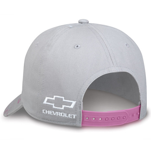 Chevy Girl Gray and Pink Hat (left side in back)