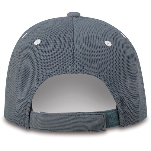 GMC AT4 White and Gray Mesh Hat (back)