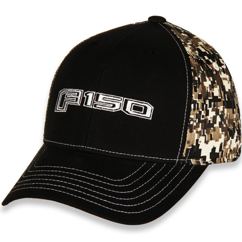Ford F150 Digital Camo and Black Hat (left)